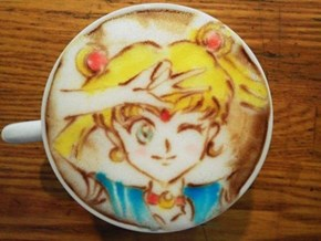 It's More Art Than Latte in This Cup