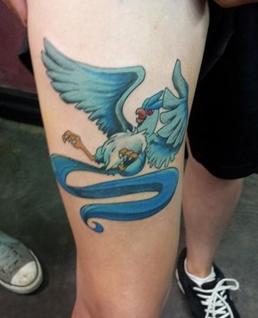Articuno Tattoo