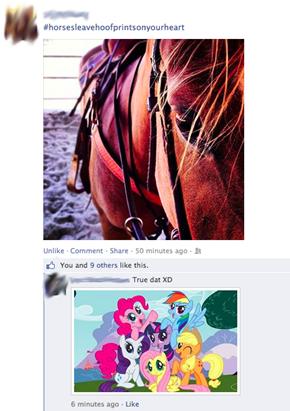 Horses Leave Hoofprints on your Heart