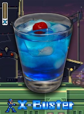 Mega Man's Perfect Drink