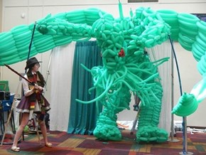 A 20 Foot Balloon Cthulhu: The Doctor's Ultimate Nemesis