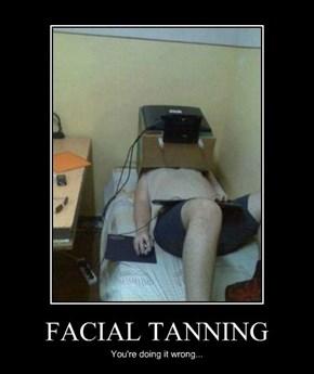 FACIAL TANNING