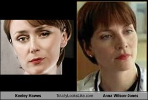 Keeley Hawes Totally Looks Like Anna Wilson-Jones