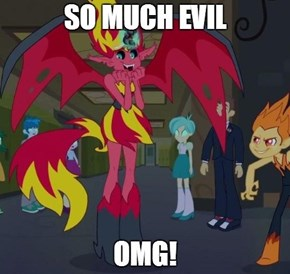 Evil makes me squee!
