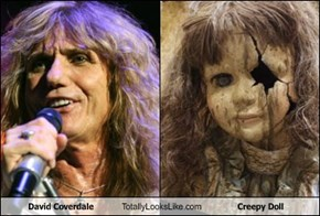 David Coverdale Totally Looks Like Creepy Doll