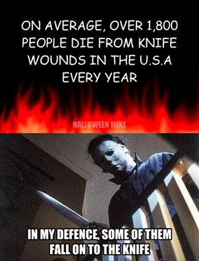 1,800 people die from knife wounds.