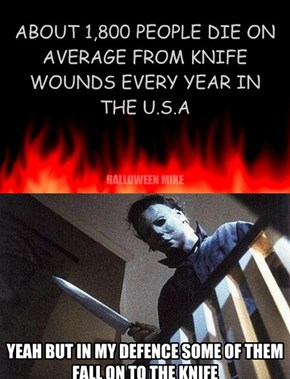 1,800 people die from knife wounds