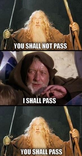 Obi-Wan vs Gandalf
