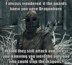 I always wondered...