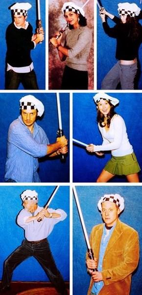 Firefly Cast as Jedi Chefs
