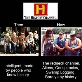 Modern History Is Strange...