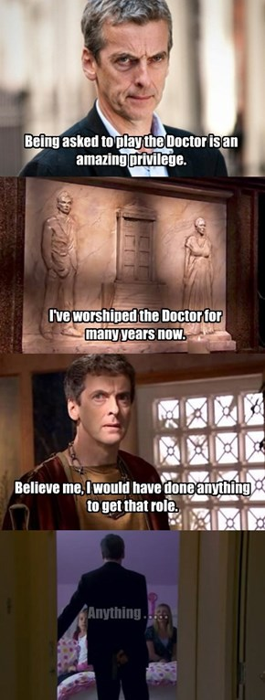 Peter about becoming the next Doctor