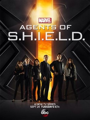 A Bright New Poster for Agents of SHIELD