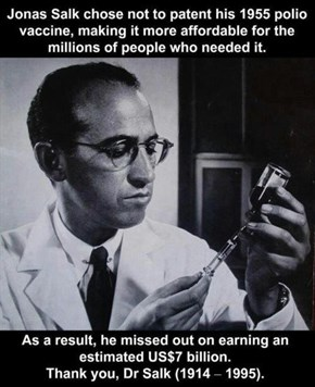 Good Guy Jonas Salk