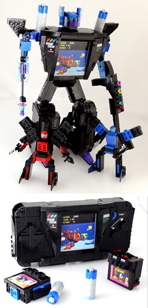 Gearhead - The Sega Game Gear Transformer