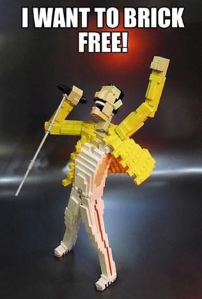 Lego My Freddie Mercury