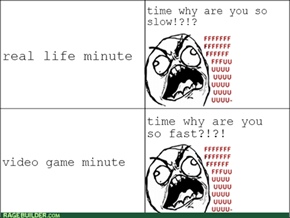 time is a retard