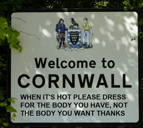 Meanwhile, in Cornwall...