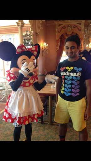 The Wrong Shirt to Wear to Disneyland