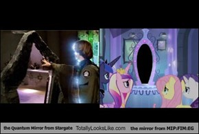 the Quantum Mirror from Stargate Totally Looks Like the mirror from MIP:FIM:EG