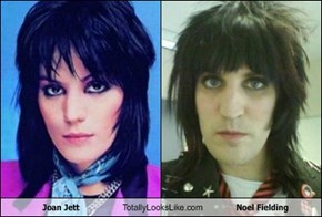 Joan Jett Totally Looks Like Noel Fielding