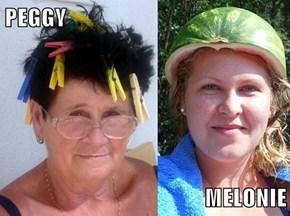 PEGGY  MELONIE