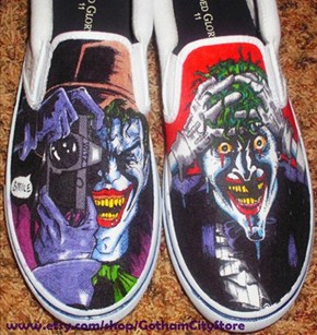 It's No Joke, I Want These Shoes.