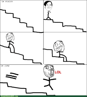Everyone has done this at some point when they were little