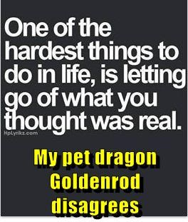 My pet dragon Goldenrod disagrees