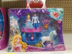 When not even Disney can get their Princesses right...