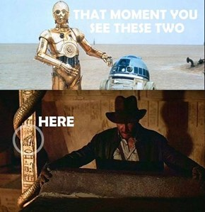 Indiana Jones and the Two Droids