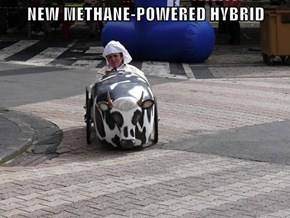 NEW METHANE-POWERED HYBRID