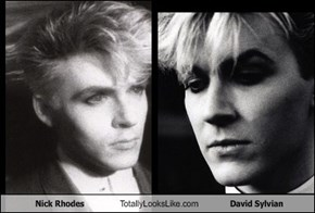 Nick Rhodes Totally Looks Like David Sylvian