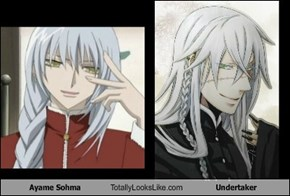 Ayame Sohma Totally Looks Like Undertaker