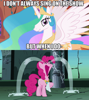 Celestia Got The Touching One