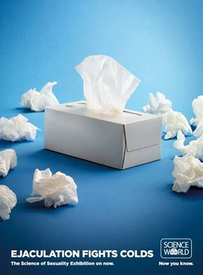 Are Tissues for the Colds or...