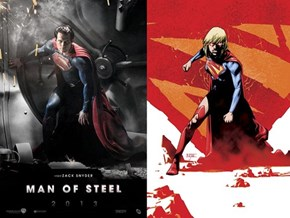 Man of Steel/ Supergirl similarities