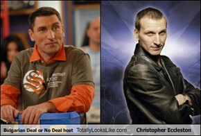 Bulgarian Deal or No Deal host Totally Looks Like Christopher Eccleston