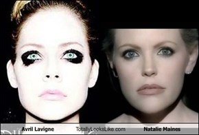 Avril Lavigne Totally Looks Like Natalie Maines