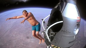 Jay-Z Diving - Red Bull Stratos Edition