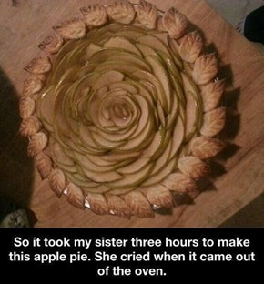 That is One Amazing Pie