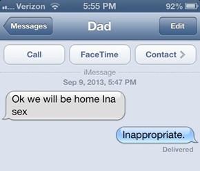 TMI, Dad