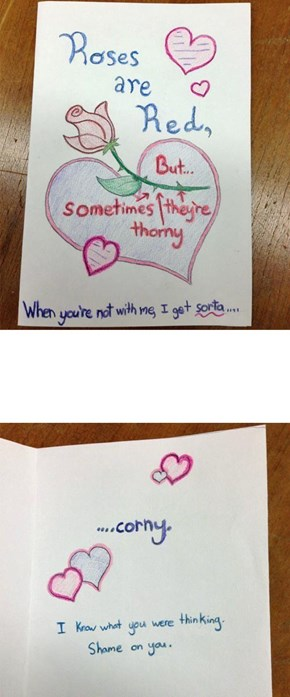 A Love Letter With a Twist