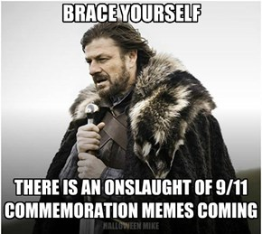Brace yourself . . .