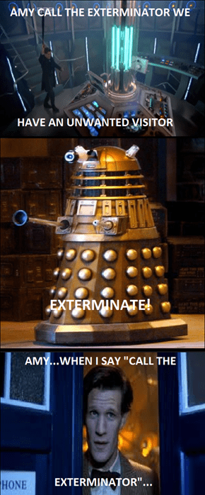 the Dalek wanted a career change