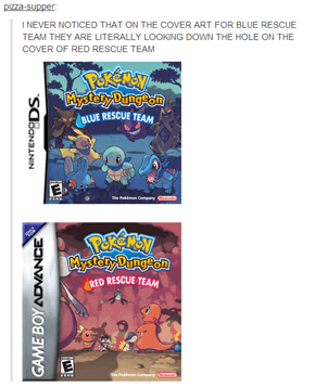 Even the Rock Mudkip Pushed Down the Hole is in the Second Cover
