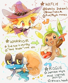 Kalos Starters Theories Drawn
