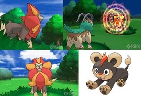 Litleo Evolution Revealed Named Pyroar!