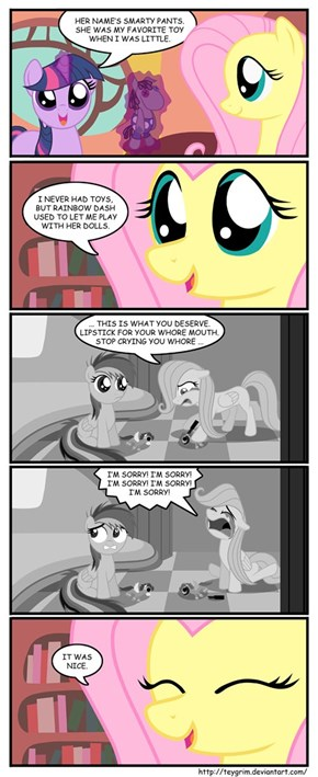 Fluttershy Has Demons