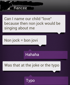 Bon Jovi aren't Scottish